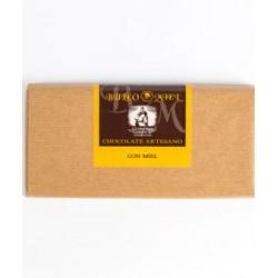 Chocolate puro con miel Buleo 125grs.