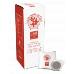Cafe monodosis papel descafeinado La Factoria Coffee