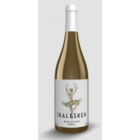 Vino Ikalesken 2019 Blanc de Noir 100% Bobal 75 cl.