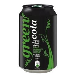 Green Cola lata 33cl.