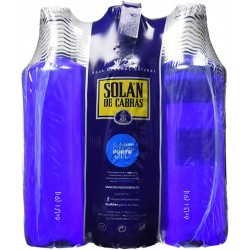 Agua Solan de Cabras 1,5 litros pet (pack de 6 unidades)