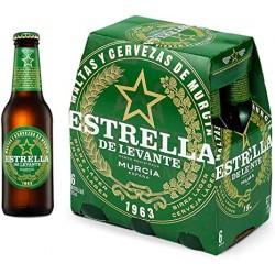 Cerveza Estrella levante 25cl no retornable pack-6 und