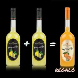 Pack Limoncello 70cl + Narancello 70cl