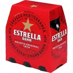 Cerveza Estrella Damm 25cl pack-6 botellas