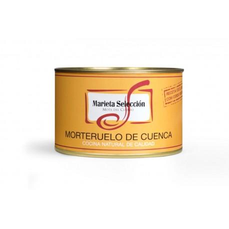 Morteruelo artesano de Cuenca Marieta 450grs