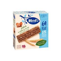 HERO BARRITA CON CEREALES Y PRALINE DE AVELLANAS CON CHOCOLATE