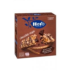 Hero barrita con chocolate negro