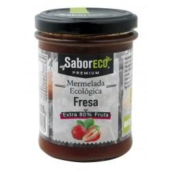 MERMELADA DE FRESA BIO 215gr SaborECO
