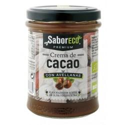 CREMA DE CACAO CON ACEITE DE OLIVA VIRGEN EXTRA BIO 200gr SaborECO