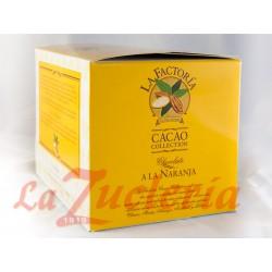 Chocolate a la naranja La Factoria Cacao Collection.